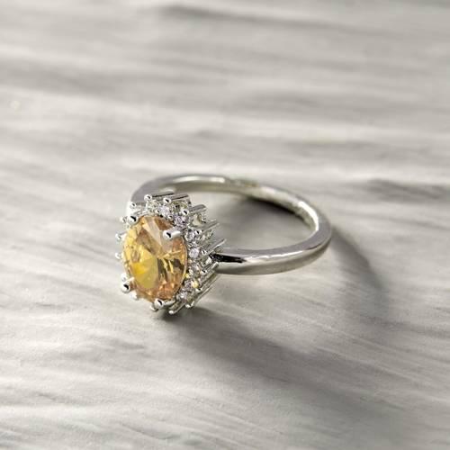 Badalona. Silver colored classic ring